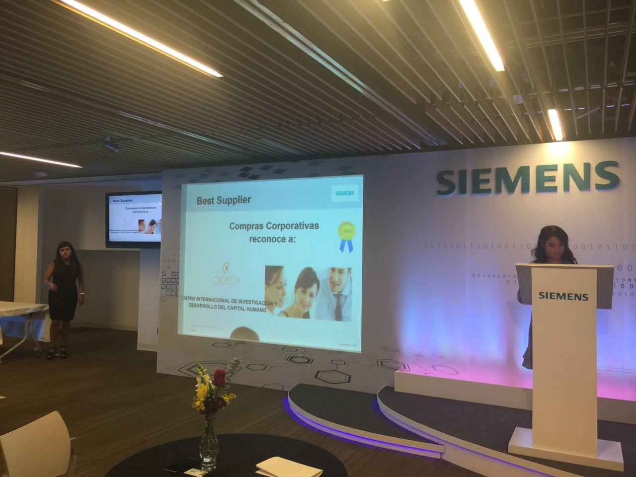 Reconocimiento Siemens Mesoamérica